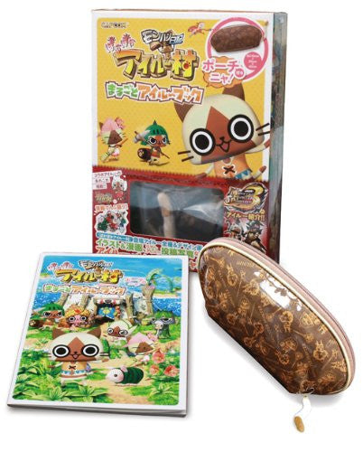 Monster Hunter Diary: Poka Poka Airu Village Marugoto Airu Book W/Extra / Psp