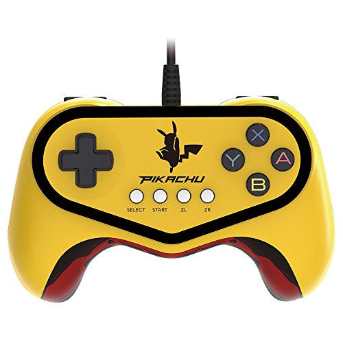 Image 4 for Hori Official Pokkén Tournament Controller for Wii U - Pikachu Version