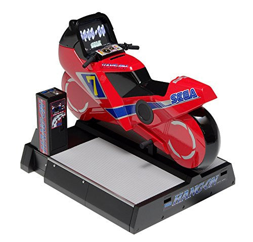 Hang-On - Memorial Game Collection Series WAVGM-016 - Hang-on Game Machine [Ride-on Type] - 1/12 (Wave)