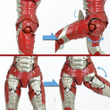 Thumbnail 6 for Iron Man 2 - Iron Man Mark V - Revoltech - Revoltech SFX 041 - Legacy of Revoltech - 41 (Kaiyodo)