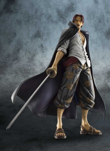 Image 7 for One Piece - Red-Haired Shanks - Excellent Model - Portrait Of Pirates DX - 1/8 - Marineford ver. (MegaHouse)