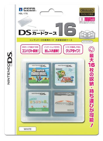 DS Card Case 16 (White)
