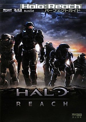 Halo: Reach Perfect Guide Book / Xbox360