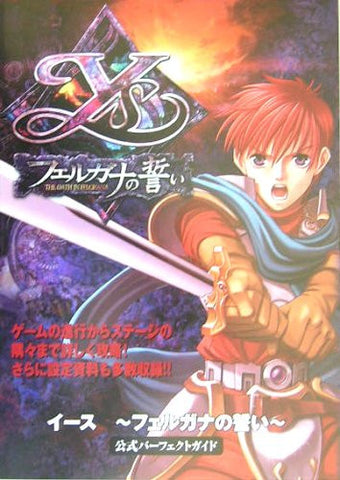 Image for Ys The Oath In Felghana Official Guide Perfect Book / Windows