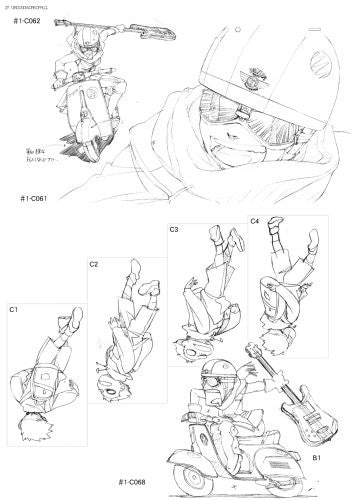 Image 2 for Furiculi Groundwork Of Flcl Original Picture Illustration Art Book