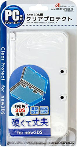 Image for Clear Protector for New 3DS (Clear)