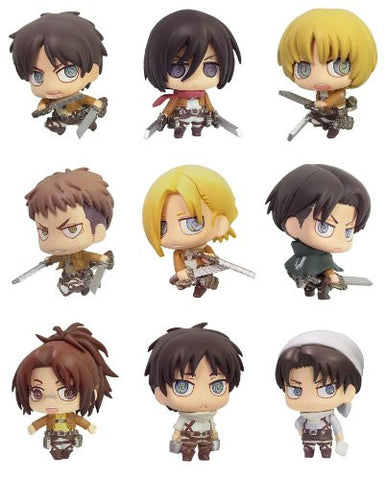 Image for COLOR COLLECTION ATTACK ON TITAN (SET OF 8 PIECES)