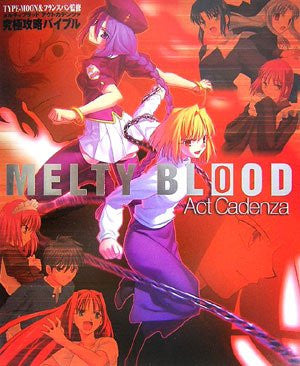 Image for Melty Blood Act Cadenza Ultimate Master Bible
