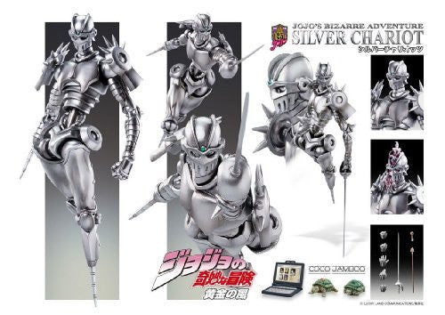 Image 5 for Jojo no Kimyou na Bouken - Ougon no Kaze - Silver Chariot - Coco Jumbo - Super Action Statue (Medicos Entertainment)