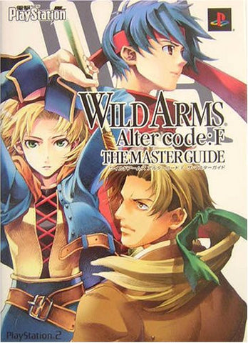 Image for Wild Arms Alter Code: F The Master Guide Book / Ps2