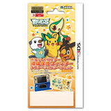 Thumbnail 1 for Pocket Monster Protection Filter Decoration Seal Set for Nintendo 3DS (Best Wish Version)