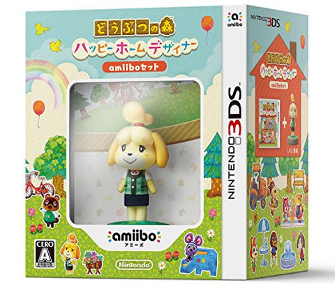 Image for Doubutsu no Mori: Happy Home Designer [amiibo Set]