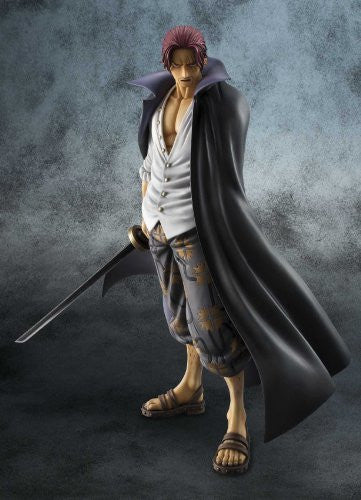 Image 6 for One Piece - Red-Haired Shanks - Excellent Model - Portrait Of Pirates DX - 1/8 - Marineford ver. (MegaHouse)