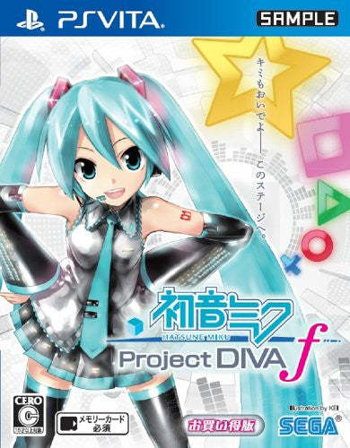 Image 1 for Hatsune Miku -Project DIVA- f [Best Price Version]