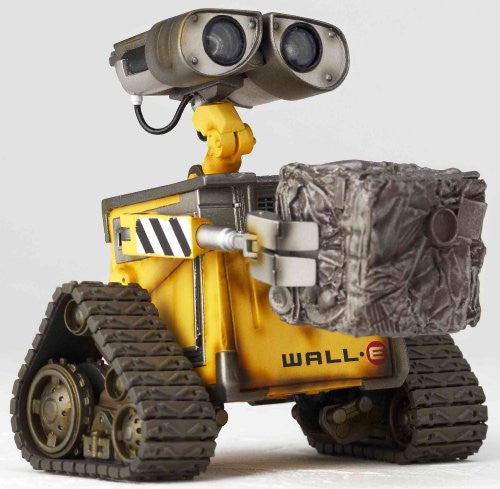Image 5 for WALL-E - Revoltech - Revoltech Pixar Figure Collection - 2 (Kaiyodo Pixar The Walt Disney Company)