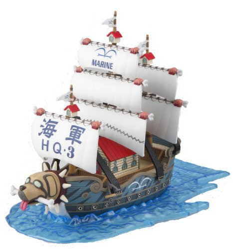 Image 1 for One Piece - One Piece Grand Ship Collection - Monkey D. Garp's Ship (Bandai)