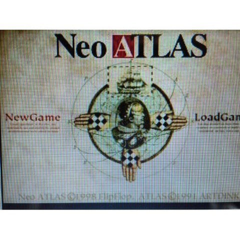 Neo Atlas High Rank Strategy Guide Book (Zest Super Maniacs) / Ps