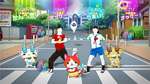 Image 5 for Youkai Watch Dance: Just Dance Special Version [Wii Remote Plus Control Set]