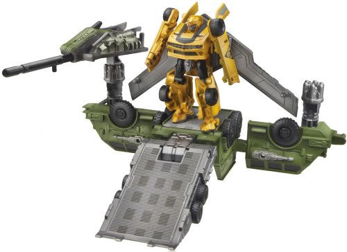 Image 2 for Transformers Darkside Moon - Bumble - Cyberverse - CV02 - Bumblebee & Mobile Battle Bunker (Takara Tomy)