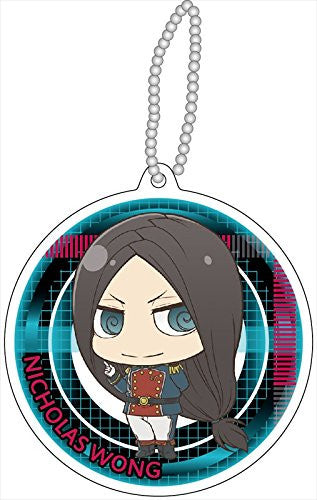 Image 1 for Gekijouban Psycho-Pass - Nicholas Wong - Keyholder - Reflector - Reflector Keychain (Contents Seed)