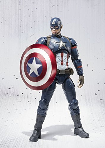 Image 6 for Captain America: Civil War - Captain America - S.H.Figuarts (Bandai)