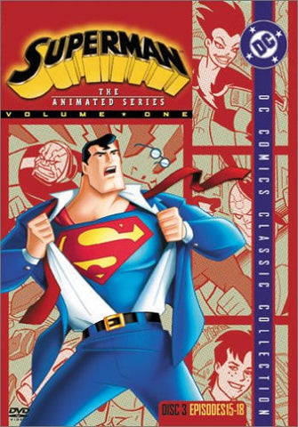 Image for Superman Animated Series Disc 3