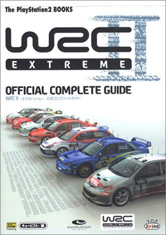 Wrc2 Extreme Official Complete Guide Book / Ps2