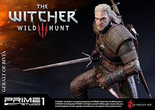Image 7 for The Witcher 3: Wild Hunt - Geralt - Howler - Premium Masterline PMW3-01 - 1/4 (Prime 1 Studio)