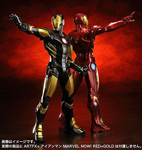 Image 6 for The Avengers - Iron Man - ARTFX+ - Marvel The Avengers ARTFX+ - 1/10 - Black  x Gold (Kotobukiya)