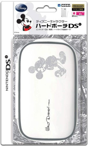 Image 1 for Disney Character Hard Pouch DSi (Mickey White)