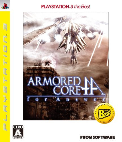 Image 1 for Armored Core: For Answer (PlayStation3 the Best)