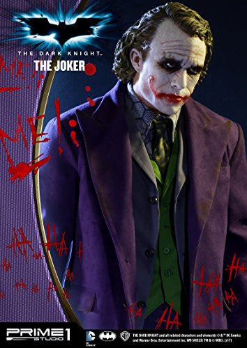 Image 8 for The Dark Knight - Joker - High Definition Museum Masterline Series HDMMDC-01 - 1/2 (Prime 1 Studio)