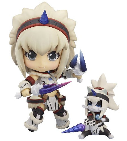 Image for Monster Hunter 4 - Airou - Hunter - Nendoroid #377 - Kirin Armor ver., Full Action (Good Smile Company)