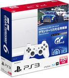 PlayStation3 New Slim Console - Starter Pack with Gran Turismo 6 (Classic White) - 1