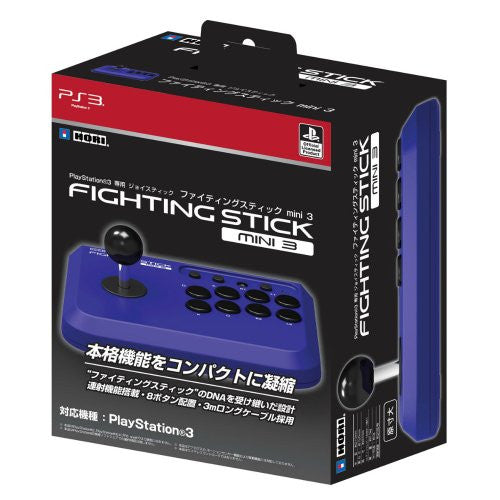 Image 2 for Hori Compact Joystick 3 (Violet Blue)