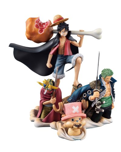 Image 2 for One Piece - Monkey D. Luffy - Roronoa Zoro - Sogeking - Tony Tony Chopper - Desktop Real McCoy (MegaHouse)
