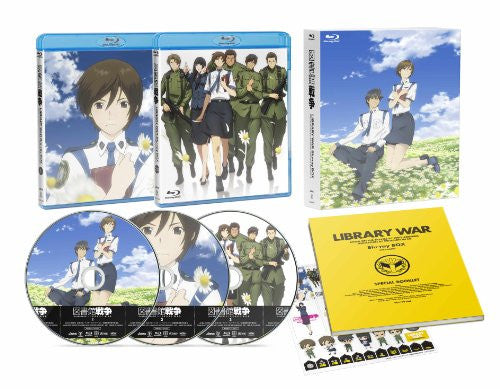 Image 1 for Toshokan Senso Blu-ray Box [Limited Edition]