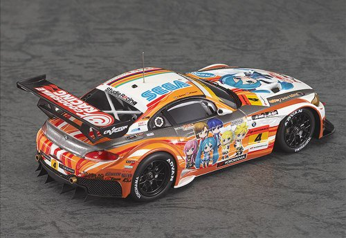 Image 3 for GOOD SMILE Racing - Vocaloid - Project Mirai - Hatsune Miku - Itasha - 2012 ProjectMirai GOOD SMILE Racing BMW Z4 GT3 - 1/43 - BMW Z4 GT3 - 2012 Season Opening Version (Max Factory)