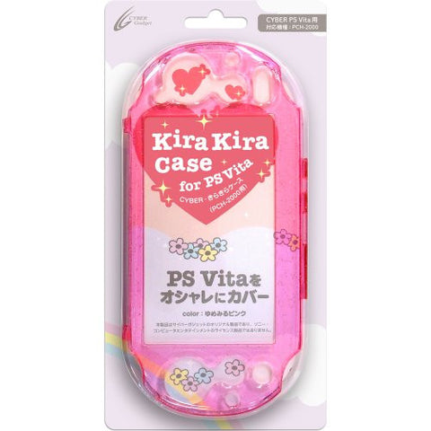 KiraKira Case for PlayStation Vita Slim (Yumemiru Pink)