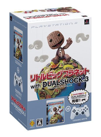 Image for LittleBigPlanet (With Dual Shock 3 Pack: White)