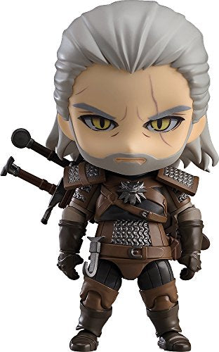 Wild Hunt Geralt Nendoroid Action Figure # 907 Good Smile Company THE WITCHER