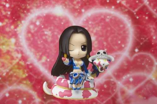 Image 5 for One Piece - Boa Hancock - Salome - Chibi-Arts - With Salome ver. (Bandai)