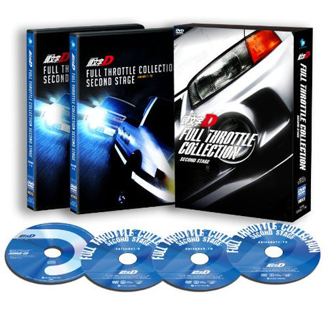 Image for Initial D Full Throttle Collection - Second Stage [3DVD+CD]