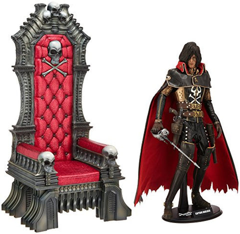 Image for Space Pirate Captain Harlock - Captain Harlock - Torisan - Movie Masterpiece MMS223 - 1/6 - Throne of Arcadia (Hot Toys)