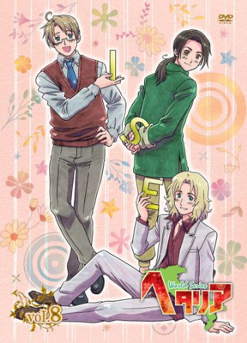 Image 1 for Hetalia World Series Vol.8 [DVD+CD Limited Edition]