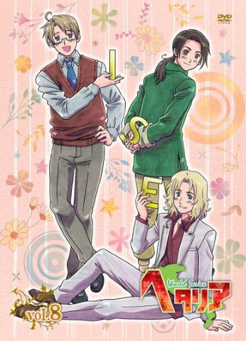 Image for Hetalia World Series Vol.8 [DVD+CD Limited Edition]