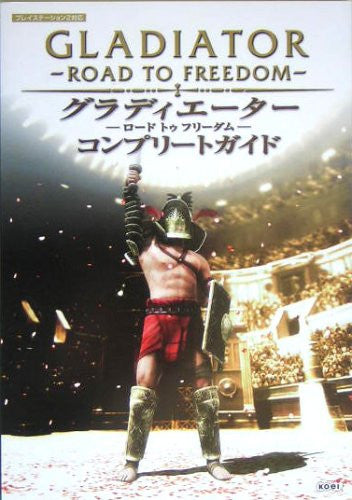 Image 1 for Gladiator Road To Freedom Complete Guide Book / Ps2