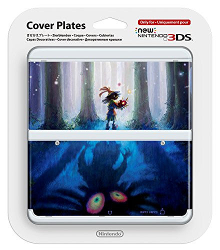 Image 1 for New Nintendo 3DS Cover Plates No.056 (Legend of Zelda Majora's Mask)