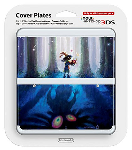 Image for New Nintendo 3DS Cover Plates No.056 (Legend of Zelda Majora's Mask)