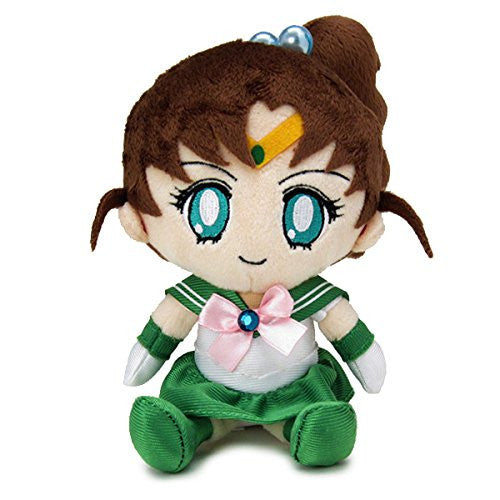 Image 1 for Bishoujo Senshi Sailor Moon - Sailor Jupiter - Mini Cushion - Sailor Moon Mini Plush Cushion (Bandai)